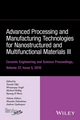 Advanced Processing and Manufacturing Technologies for Nanostructured and Multifunctional Materials III, Volume 37, Issue 5 (1119321700) cover image