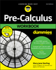 Pre-Calculus Workbook For Dummies, 3rd Edition (1119508800) cover image