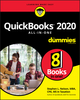 QuickBooks 2020 All-In-One For Dummies (1119589800) cover image