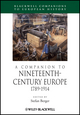 A Companion to Nineteenth-Century Europe 1789 - 1914 (1405113200) cover image