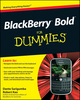 BlackBerry Bold For Dummies (0470525401) cover image