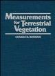Measurements for Terrestrial Vegetation (0471048801) cover image