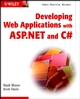 Developing Web Applications with ASP.NET and C# (0471120901) cover image