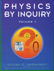 Physics by Inquiry: An Introduction to Physics and the Physical Sciences, Volume 1 (0471144401) cover image