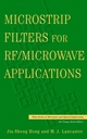 Microstrip Filters for RF / Microwave Applications (0471464201) cover image