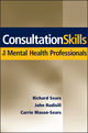 Consultation Skills for Mental Health Professionals (0471705101) cover image