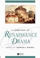 A Companion to Renaissance Drama (0631219501) cover image