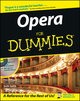 Opera For Dummies (0764550101) cover image