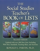 The Social Studies Teacher's Book of Lists, 2nd Edition (0787965901) cover image