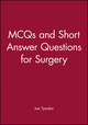 MCQs and Short Answer Questions for Surgery (0867930101) cover image