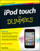 iPod touch For Dummies, 3rd Edition (1118129601) cover image