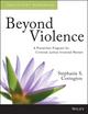 Beyond Violence: A Prevention Program for Criminal Justice-Involved Women Participant Workbook (1118657101) cover image