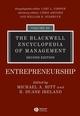 The Blackwell Encyclopedia of Management, Volume 3, Entrepreneurship, 2nd Edition (1405116501) cover image