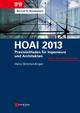 HOAI 2013: Praxisleitfaden fur Ingenieure und Architekten (3433603901) cover image