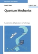 Quantum Mechanics: Fundamentals and Applications to Technology (3527618201) cover image