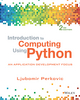 Introduction to Computing Using Python, 2nd Edition (EHEP003201) cover image