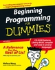 Beginning Programming For Dummies, 4th Edition (0470088702) cover image