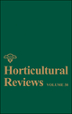 Horticultural Reviews, Volume 38 (0470644702) cover image