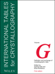 International Tables for Crystallography, Volume G, Definition and Exchange of Crystallographic Data (0470689102) cover image