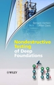 Nondestructive Testing of Deep Foundations (0470848502) cover image