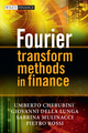 Fourier Transform Methods in Finance (0470994002) cover image