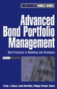 Advanced Bond Portfolio Management: Best Practices in Modeling and Strategies (0471678902) cover image