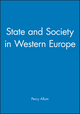 State and Society in Western Europe (0745604102) cover image