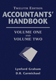 Accountants' Handbook, 2 Volume Set, 12th Edition (1118171802) cover image