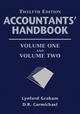 Accountants' Handbook, 2 Volume Set, 12th Edition