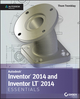 Inventor 2014 and Inventor LT 2014 Essentials: Autodesk Official Press (1118575202) cover image