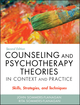 Counseling and Psychotherapy Theories in Context and Practice: Skills, Strategies, and Techniques, with Video Resource Center, 2nd Edition (1119084202) cover image