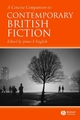A Concise Companion to Contemporary British Fiction (1405120002) cover image