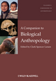 A Companion to Biological Anthropology (1405189002) cover image
