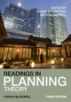 Readings in Planning Theory, 3rd Edition (1444330802) cover image