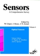 Sensors, A Comprehensive Survey, Volume 6, Optical Sensors (3527620702) cover image