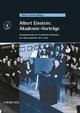 Albert Einstein: Akademie-Vorträge: Sitzungsberichte der Preußischen Akademie der Wissenschaften 1914 - 1932 (3527660402) cover image