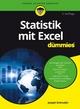 Statistik mit Excel für Dummies, 2. Auflage (3527811702) cover image