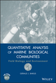 Quantitative Analysis of Marine Biological Communities: Field Biology and Environment (0470044403) cover image