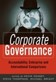 Corporate Governance: Accountability, Enterprise and International Comparisons (0470870303) cover image