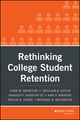 Rethinking College Student Retention (0470907703) cover image