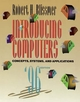 Introducing Computers: Concepts, Systems, and Applications, 1995 - 96 Edition (0471113603) cover image