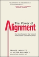 The Power of Alignment: How Great Companies Stay Centered and Accomplish Extraordinary Things (0471177903) cover image