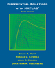 Differential Equations with Matlab, 3rd Edition (1118376803) cover image
