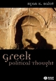 Greek Political Thought (1405100303) cover image