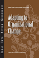 Adapting to Organizational Change (1604911603) cover image