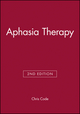 Aphasia Therapy, 2nd Edition (1870332903) cover image