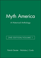 Myth America: A Historical Anthology, Volume 1, 2nd Edition (1933385103) cover image
