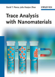 Trace Analysis with Nanomaterials (3527323503) cover image