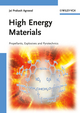 High Energy Materials: Propellants, Explosives and Pyrotechnics (3527326103) cover image