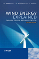 Wind Energy Explained: Theory, Design and Application, 2nd Edition (0470015004) cover image